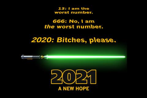 2021, a new hope.