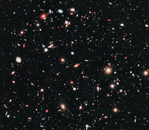 Figure 1. The Hubble eXtreme Deep Field (XDF).