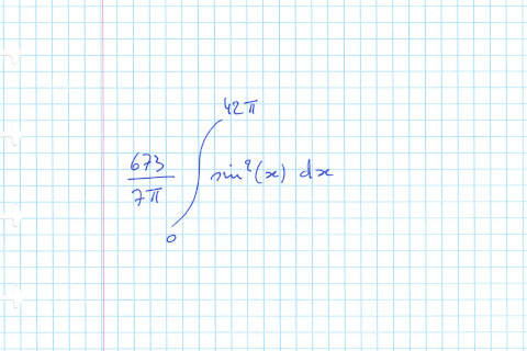 Mystery integral.