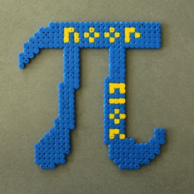 Pi using Hama beads