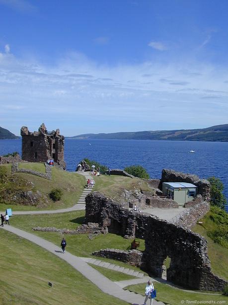 Loch Ness Castle Ruins